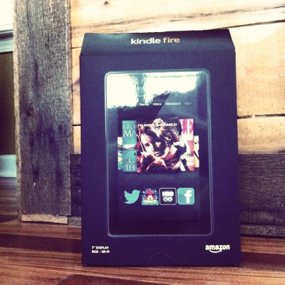 Kindle Fire - in the flesh